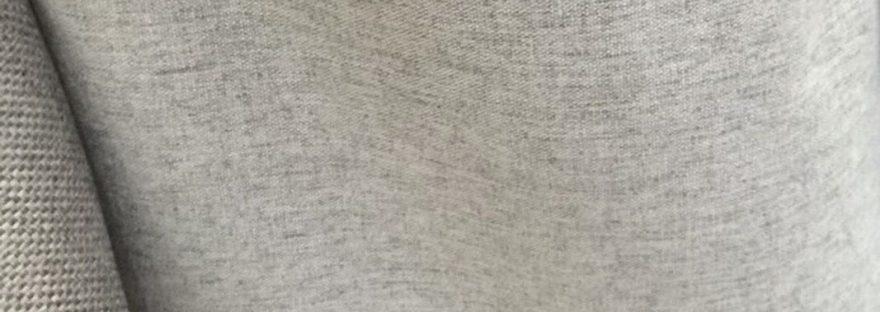 ผ้าม่านกันแสง 100% สีเทาอ่อน